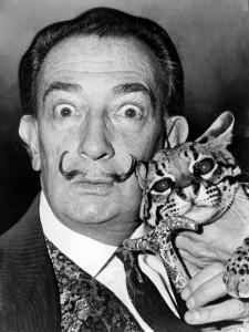 Dalí Estafó 10000 Dólares Yoko Ono Con Un Falso Pelo De Bigote